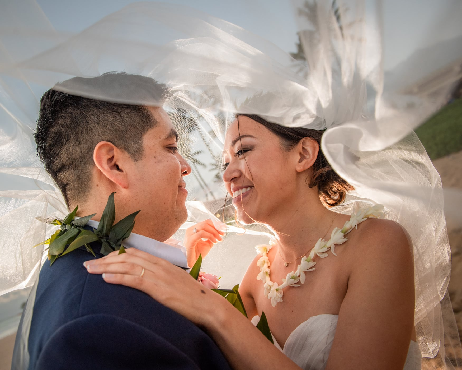 J. Anthony Martinez Photography Maui Wedding Photographer Royal Lahaina Resort Judy Yuan & Ivan Santana-63